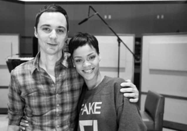 Rihanna and Jim Parsons