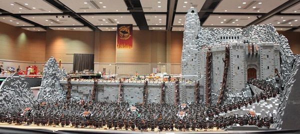 Esta creación LEGO es magnífica