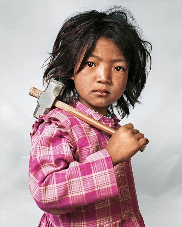 14 niños de diferentes países y sus habitaciones