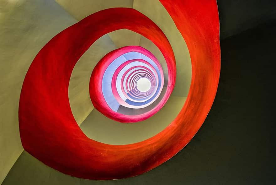 """""""Debajo de la escalera"""", le dio la victoria a Holger Schmidtke (Alemania) en la categoría Arquitectura."""
