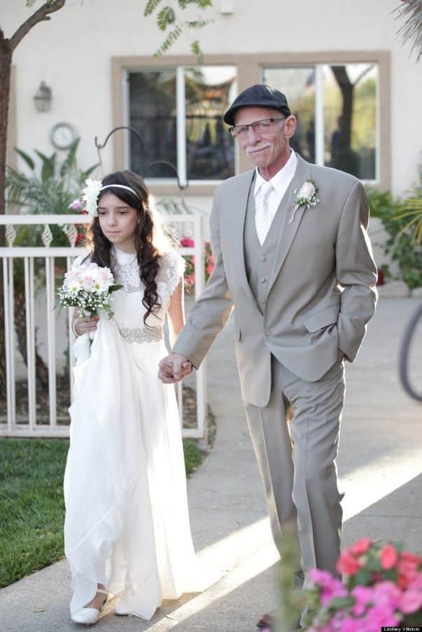 Supo que no viviría para ver a su hija casándose. Por eso, esto que hizo fue muy emotivo