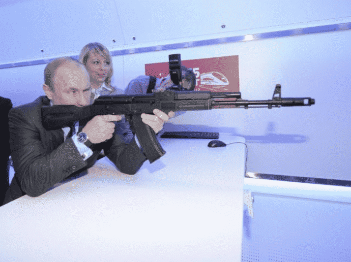 putin rifle de asalto