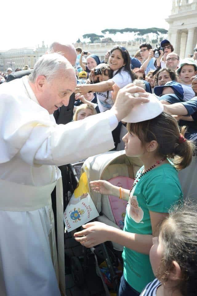 10 fotos sobre el Papa Francisco muy curiosas