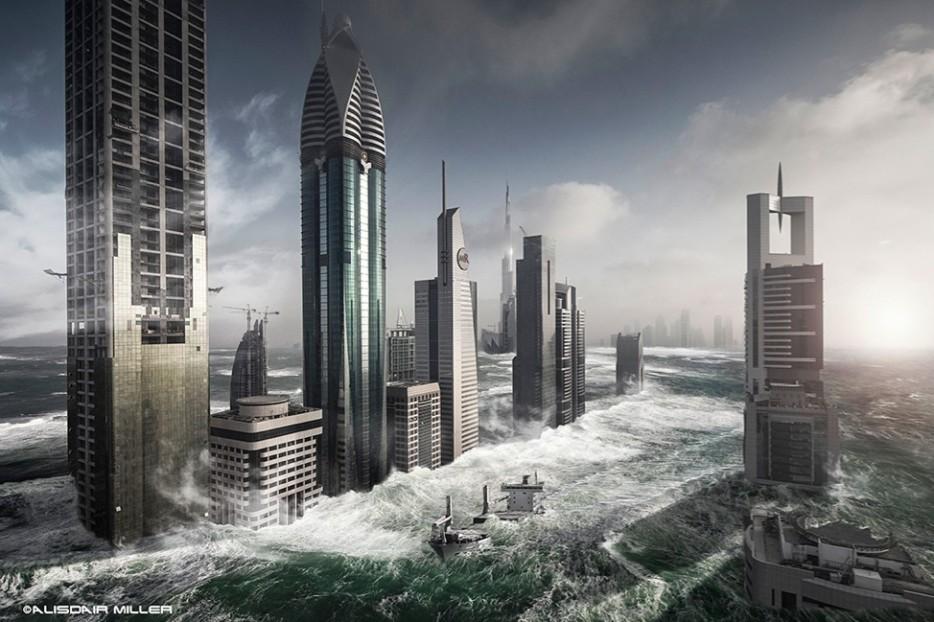 Dubai inundacion