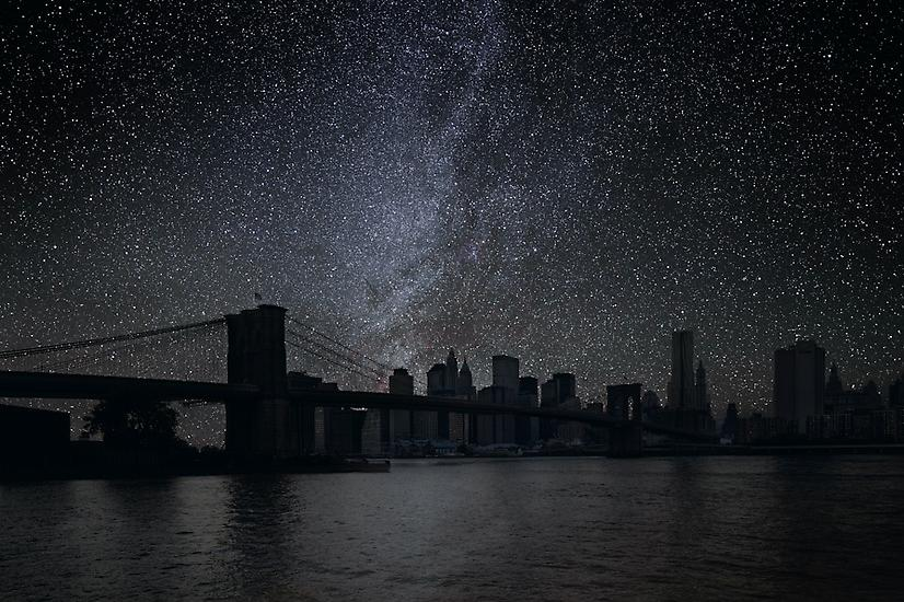 El puente de Brooklyn, Nueva York