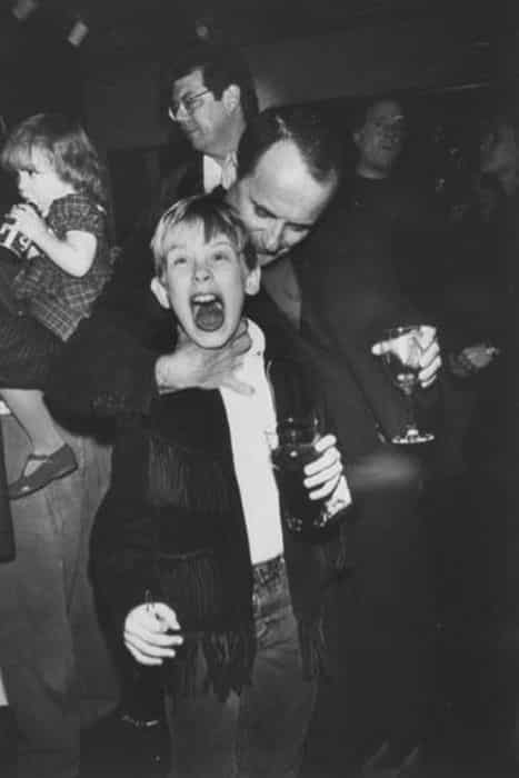 Joe Pesci y Macaulay Culkin