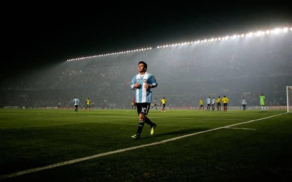 Proyectores y Messi
