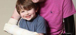 alex lewis y su hijo