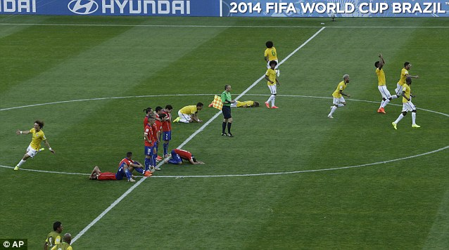 jugadores de Chile desamparados