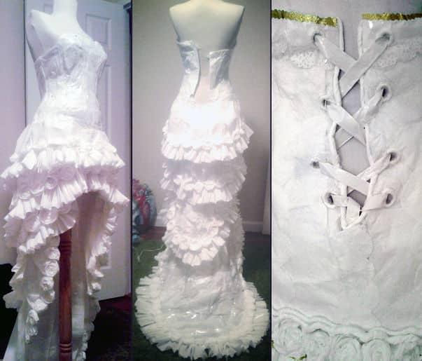vestido higienico