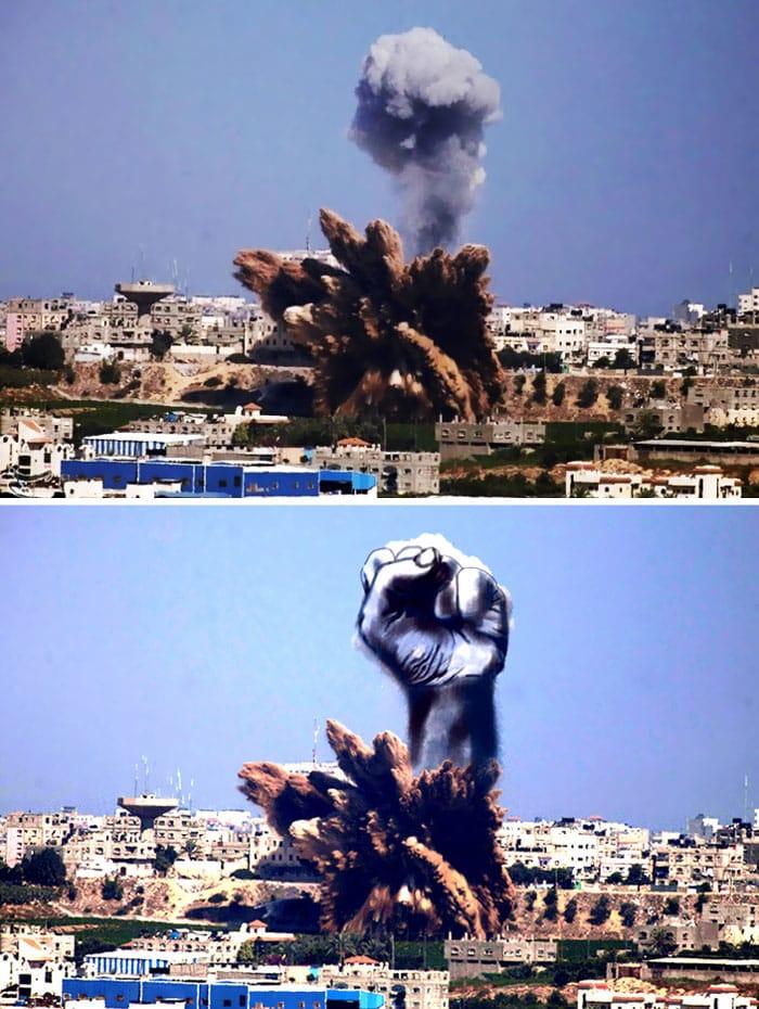 gaza-israel-rocket-strike-smoke-art-29