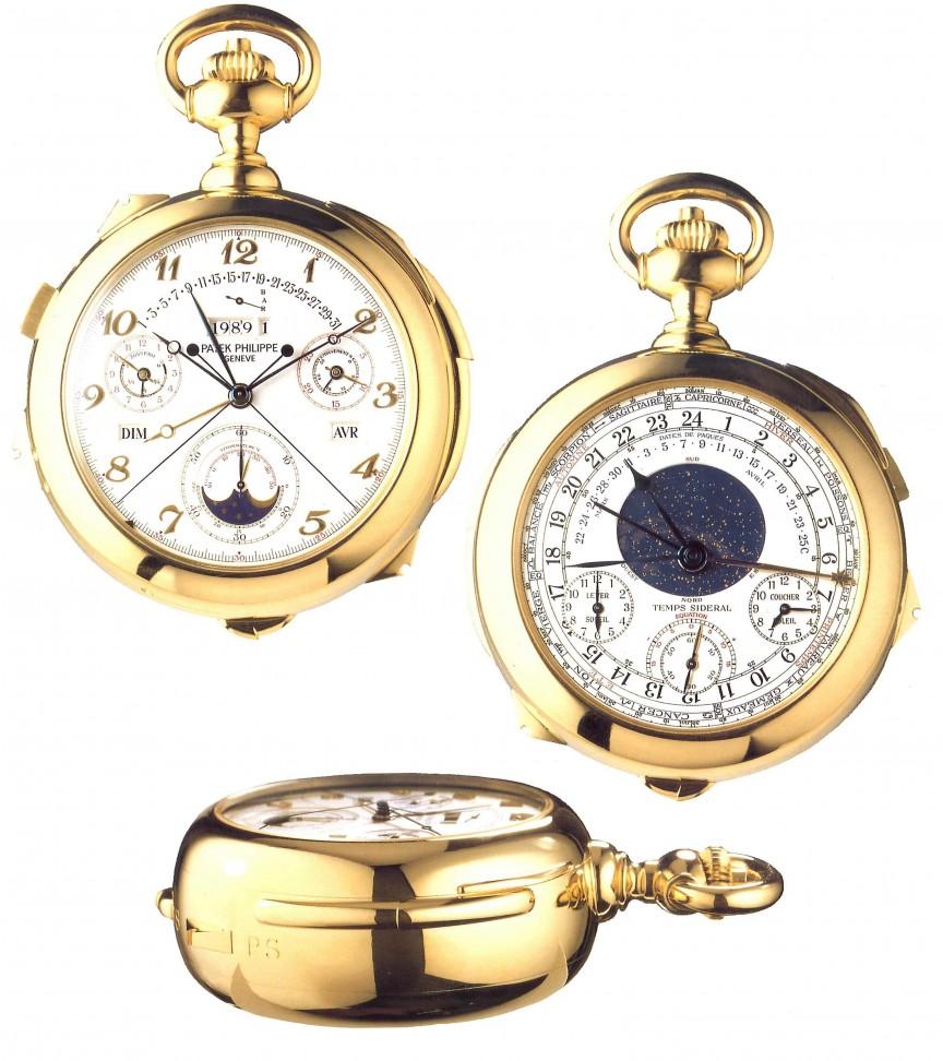 caro reloj calibre 89