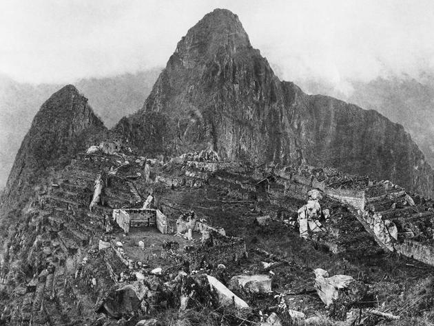 machu Picchu primera foto