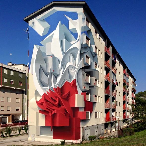fachada en Italia
