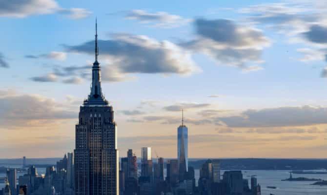 en el puesto tenemos al que fue el edificio ms alto del mundo en un perodo comprendido de hasta el empire state building
