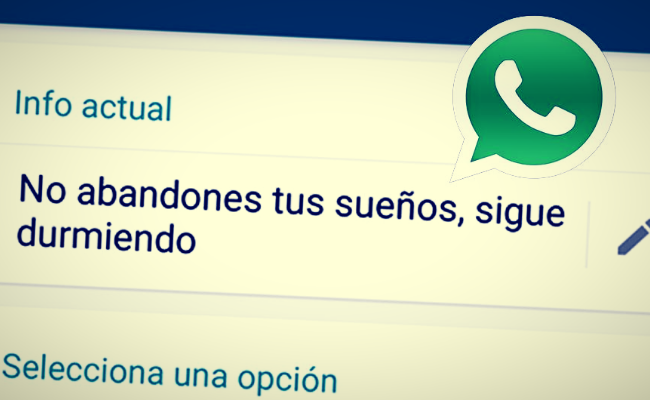 Frases y estados de Whatsapp